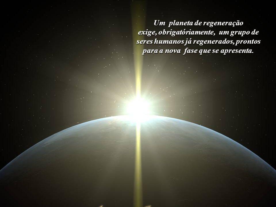 Um planeta de regeneração