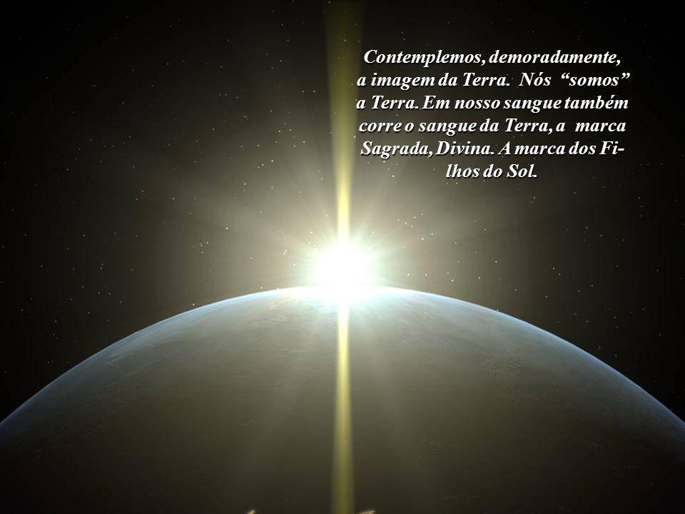 Contemplemos, demoradamente, a imagem da Terra. Nós somos