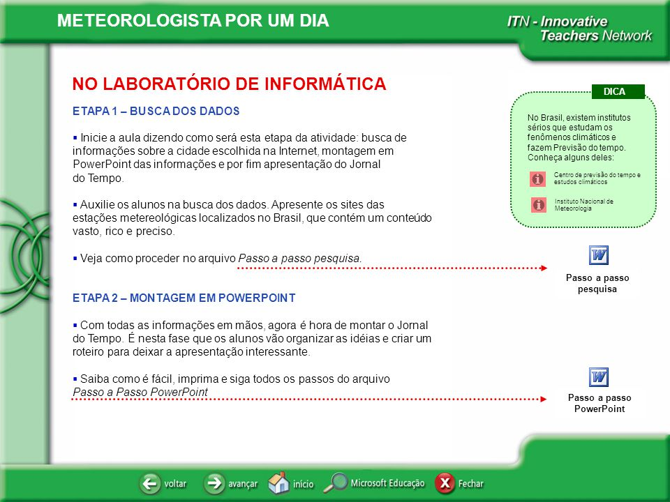 Passo a passo PowerPoint
