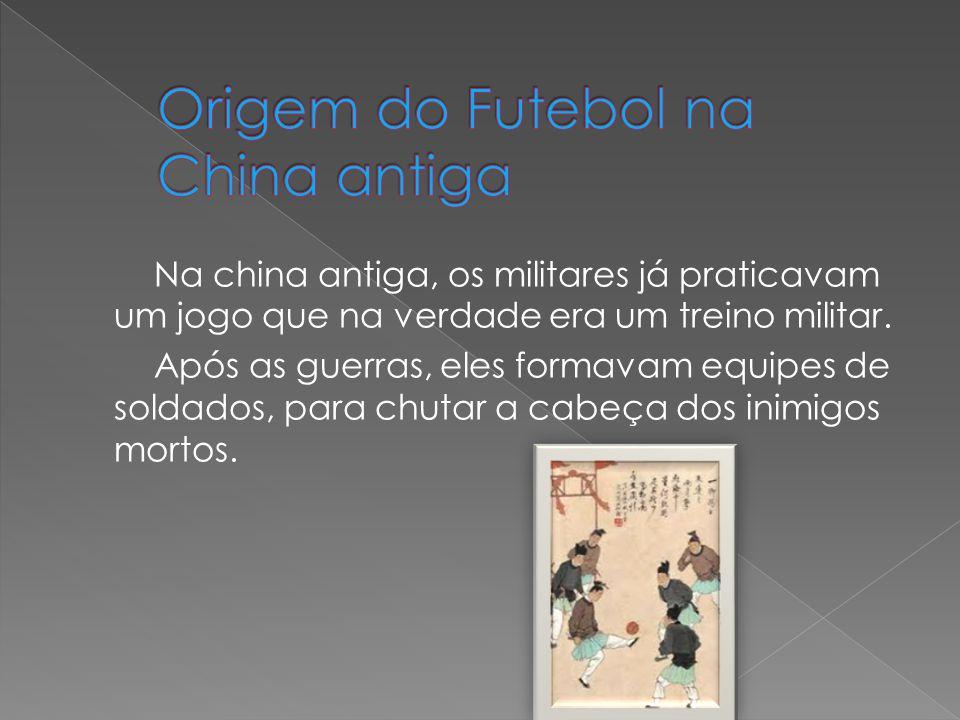 Origem do Futebol na China antiga