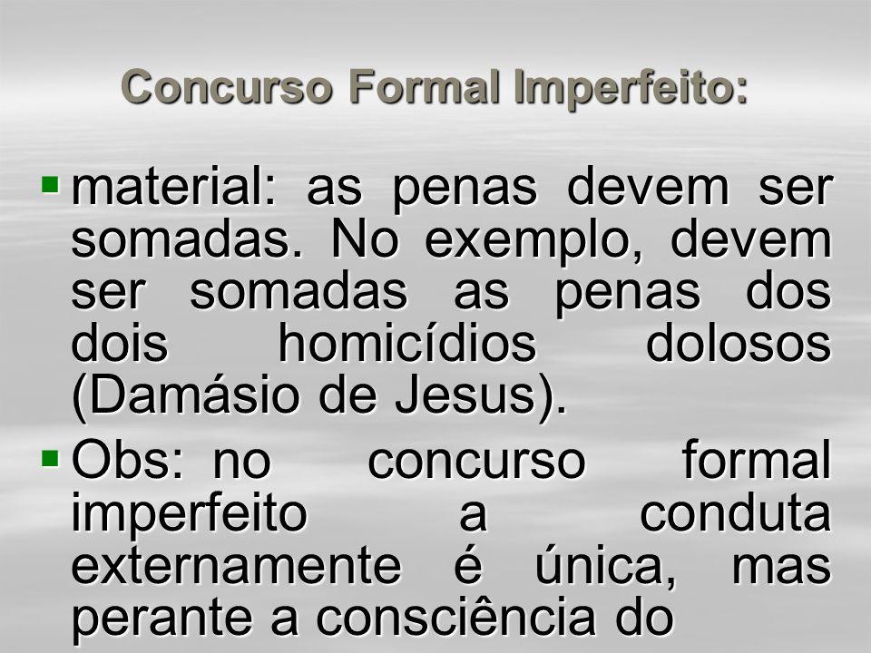 Concurso Formal Imperfeito: