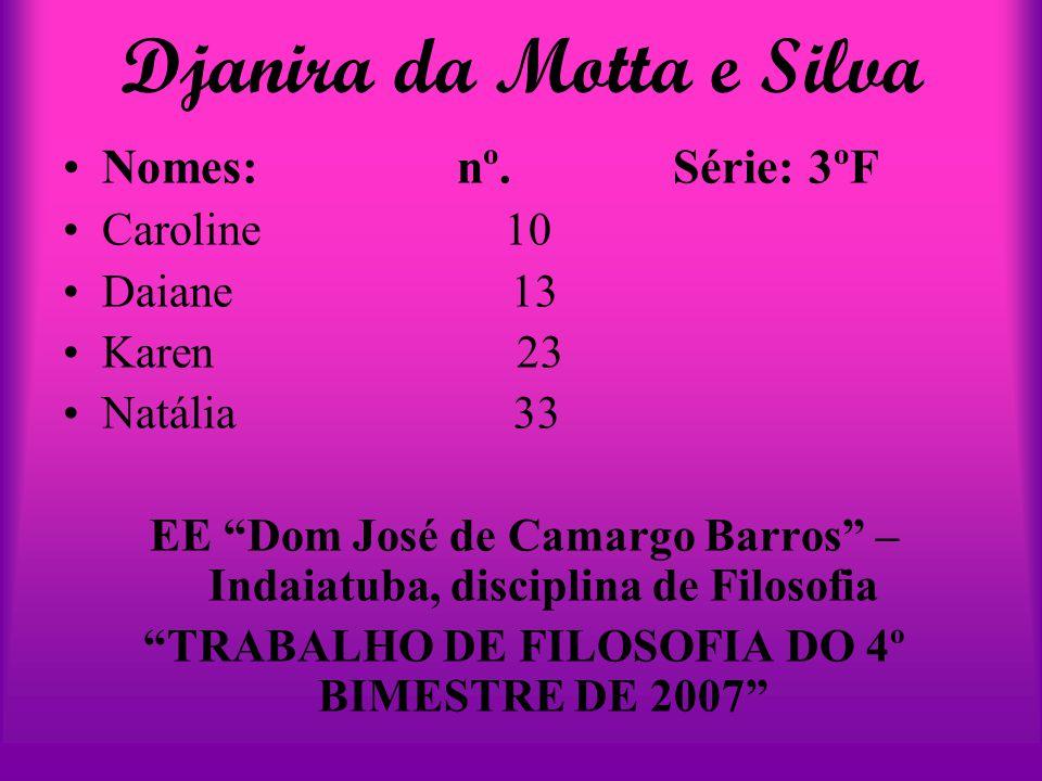 Djanira da Motta e Silva