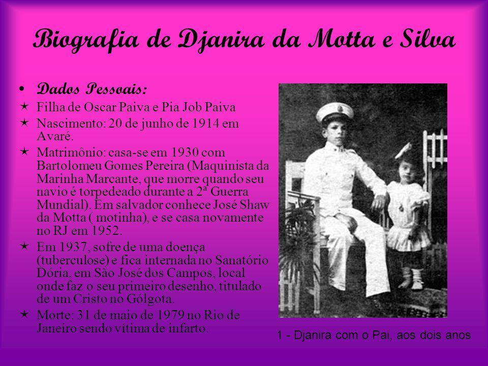 Biografia de Djanira da Motta e Silva