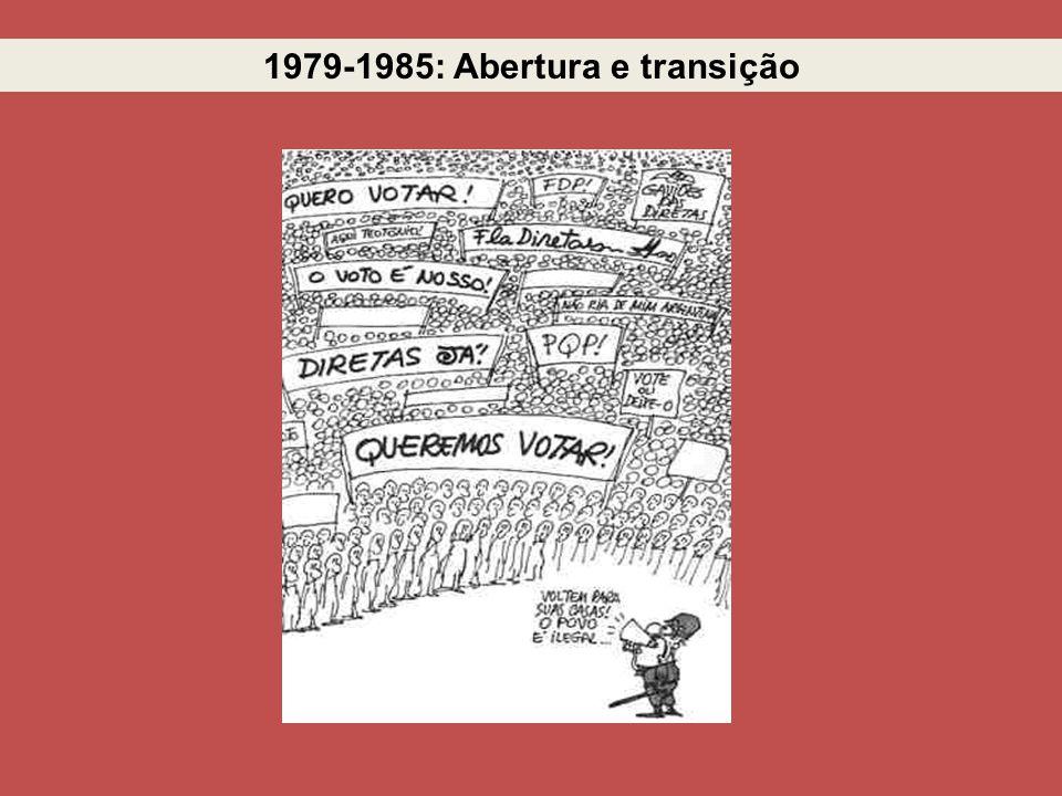 1979-1985: Abertura e transição