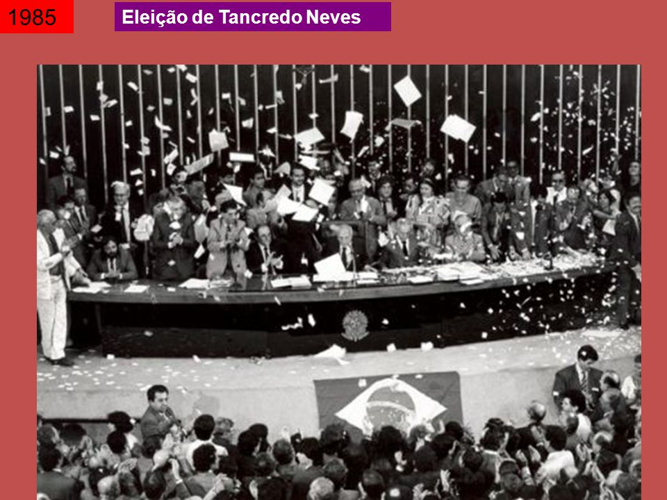 1985 Eleição de Tancredo Neves