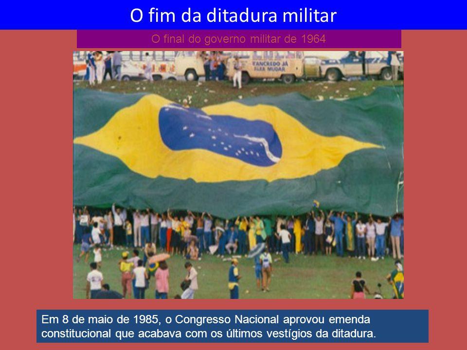 O fim da ditadura militar