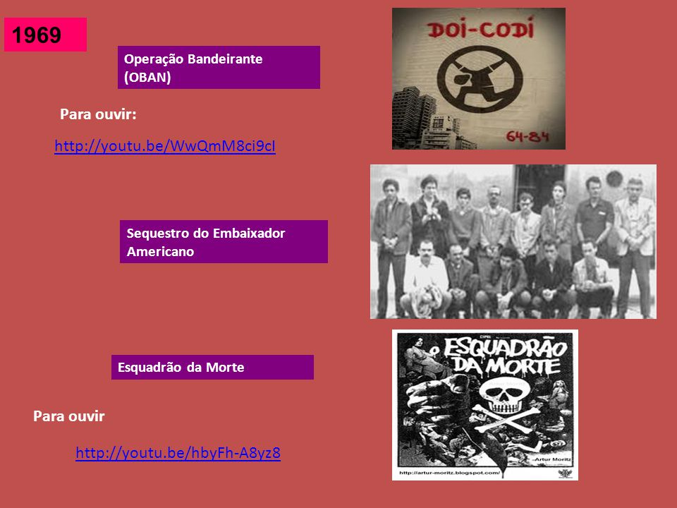 1969 Para ouvir: http://youtu.be/WwQmM8ci9cI Para ouvir