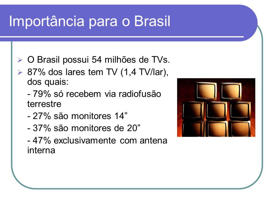 Importância para o Brasil