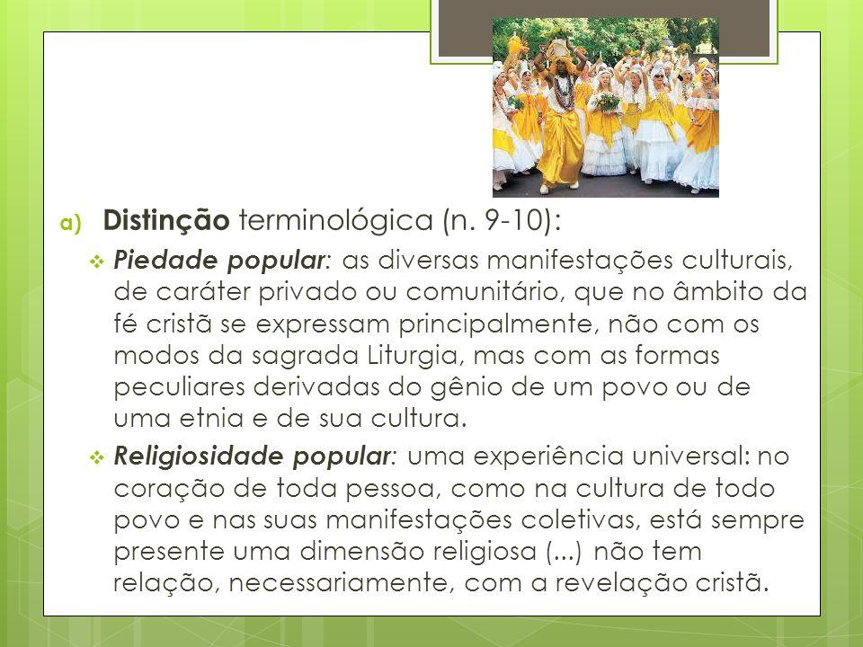 Distinção terminológica (n. 9-10):