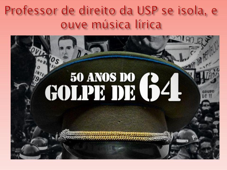 Professor de direito da USP se isola, e ouve música lírica