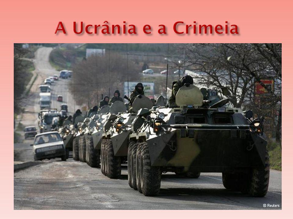 A Ucrânia e a Crimeia A Ucrânia é um país que resultou do esfacelamento da União Soviética. Hoje, o país vive uma crise econômica e política.