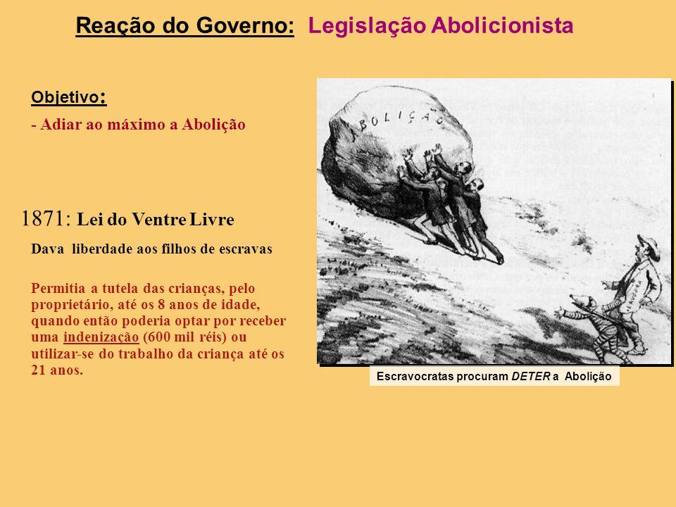 Reação do Governo: Legislação Abolicionista