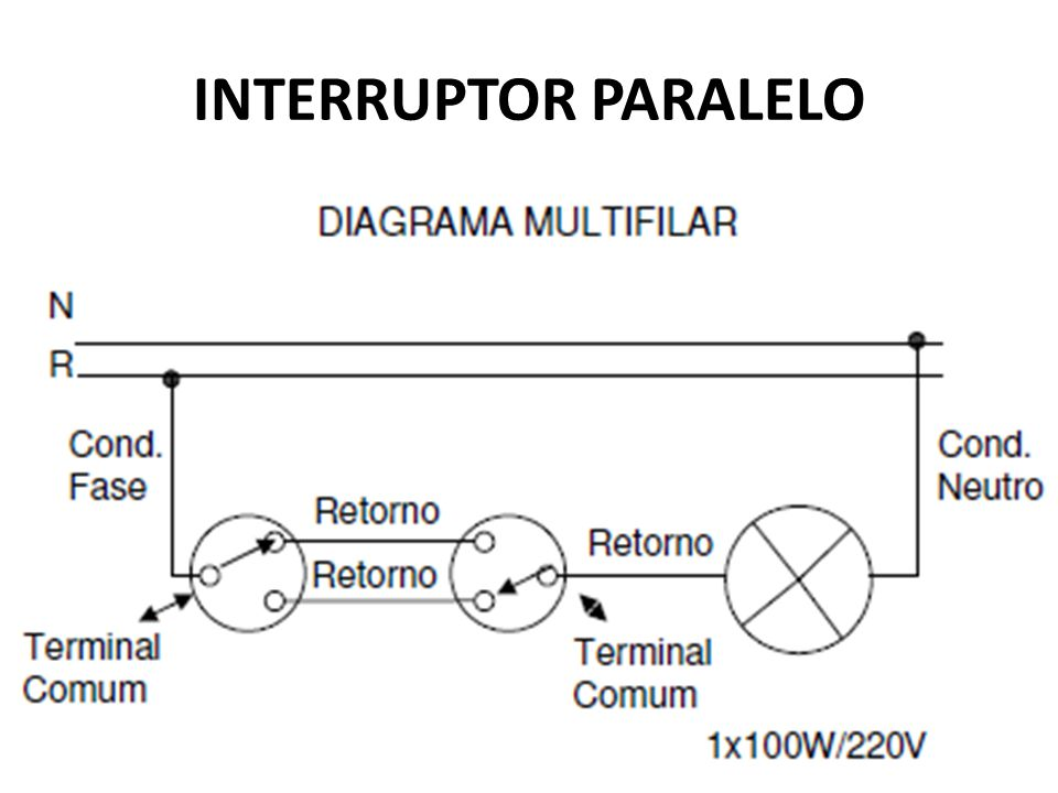 INTERRUPTOR PARALELO