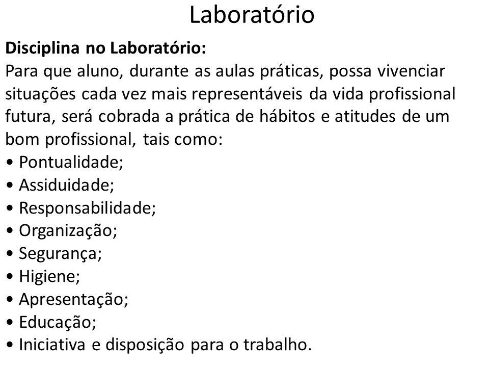Laboratório Disciplina no Laboratório: