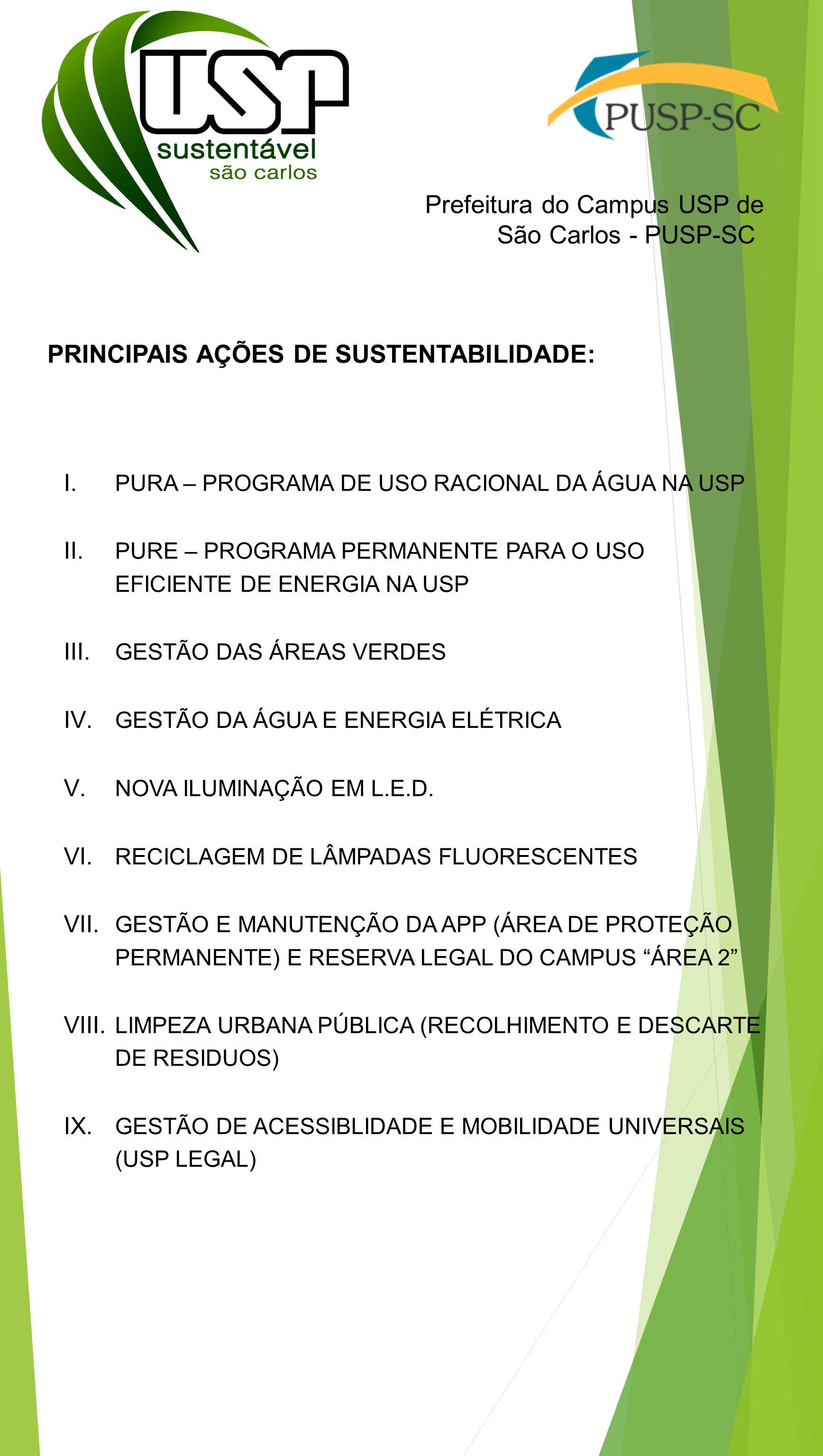 Prefeitura do Campus USP de São Carlos - PUSP-SC