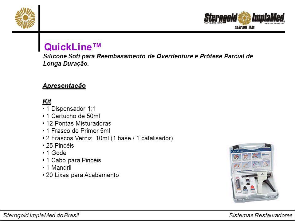 QuickLine™ Apresentação Kit