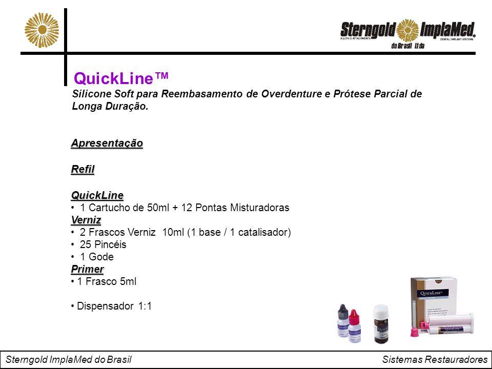 QuickLine™ Apresentação Refil QuickLine