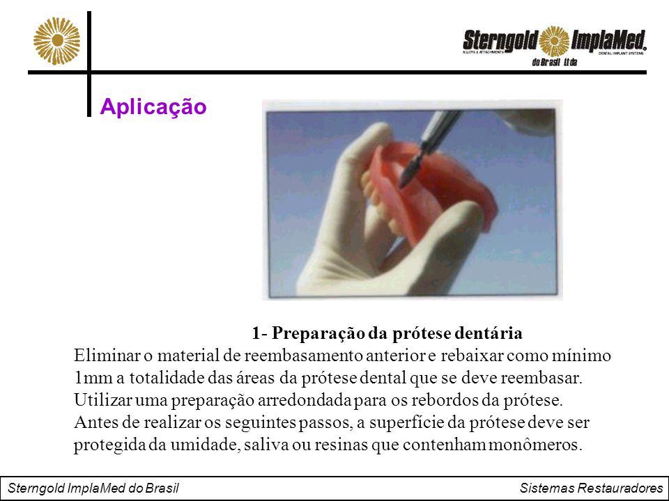 1- Preparação da prótese dentária