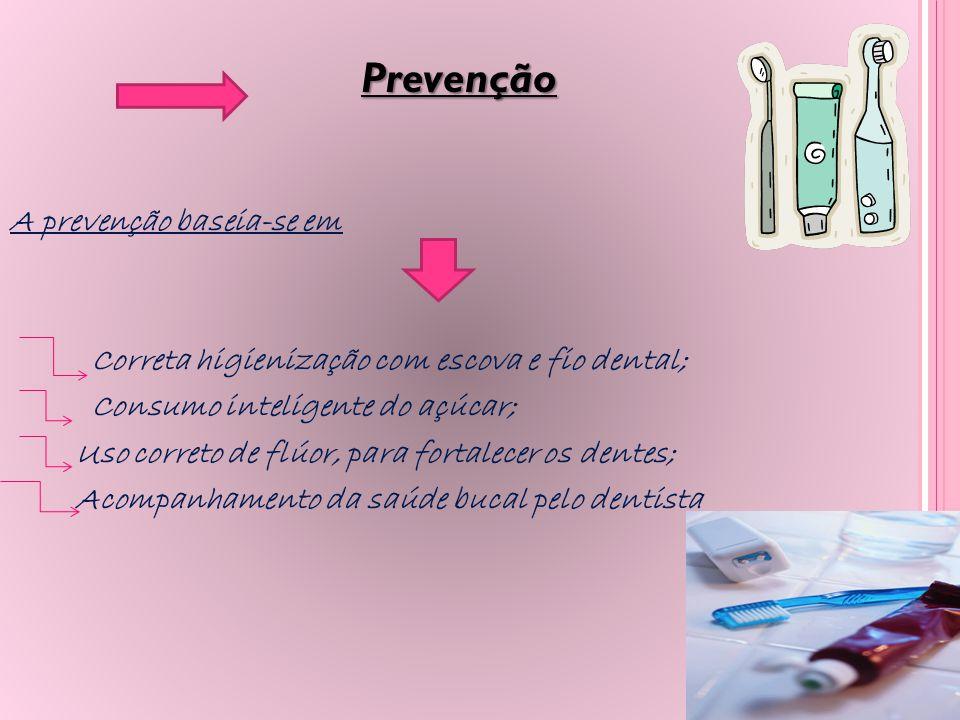 Prevenção Prevenção A prevenção baseia-se em