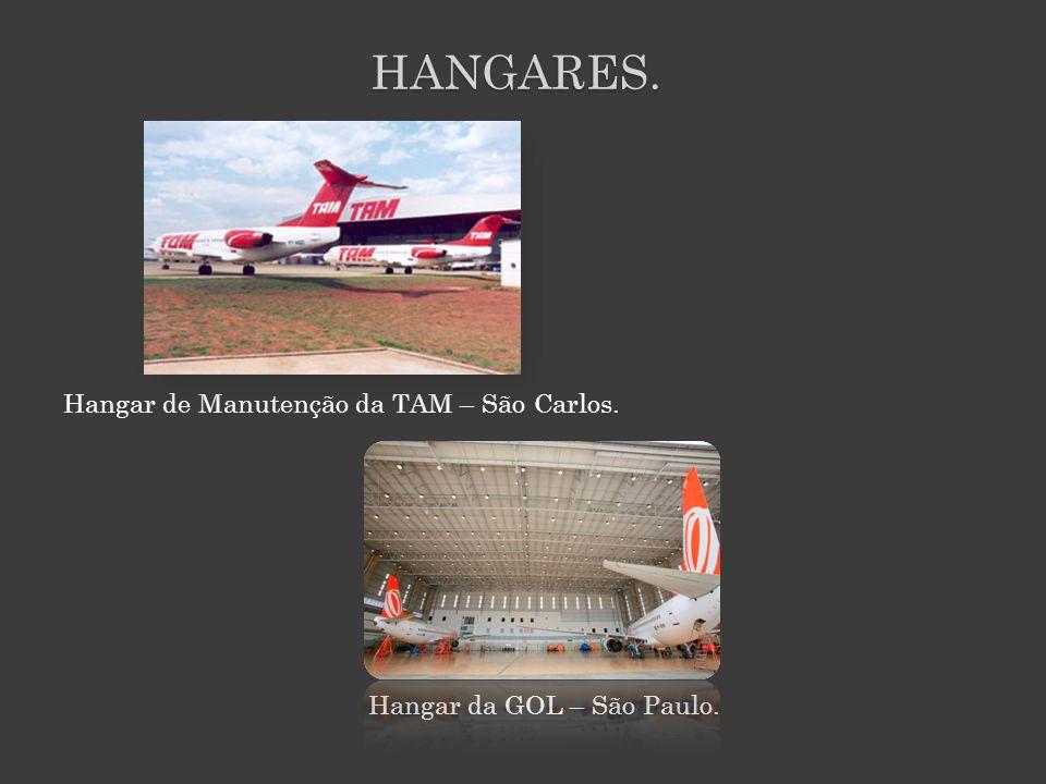 HANGARES. Hangar de Manutenção da TAM – São Carlos.