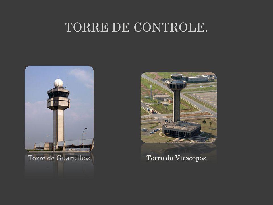 TORRE DE CONTROLE. Torre de Guarulhos. Torre de Viracopos.