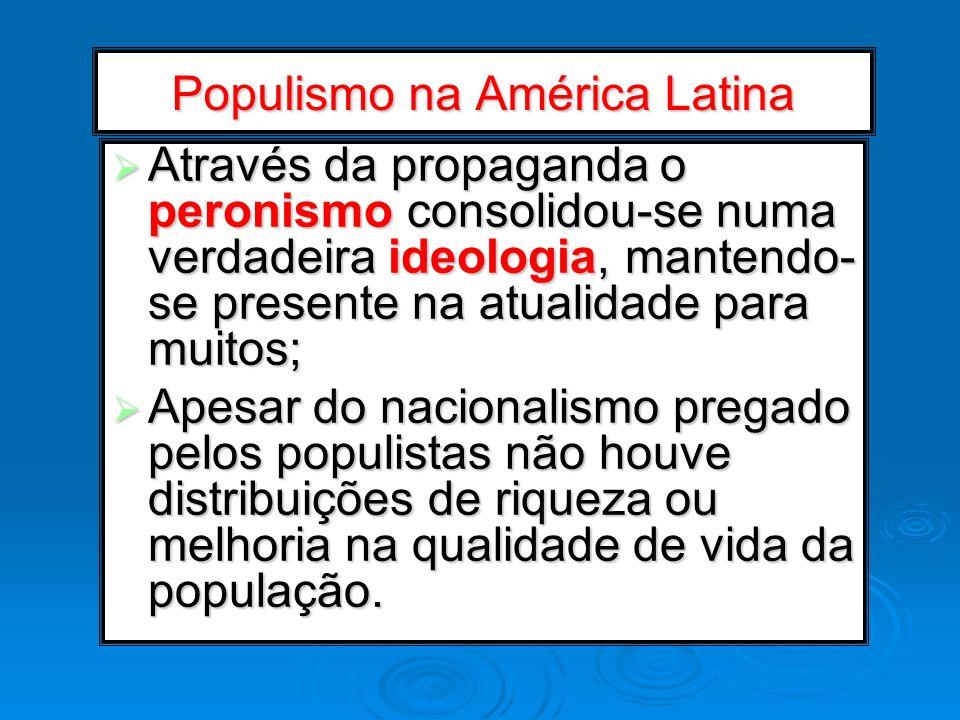 Populismo na América Latina