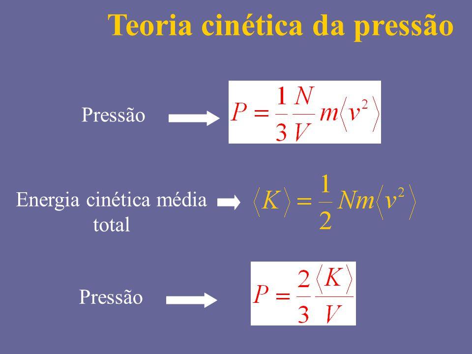 Energia cinética média total
