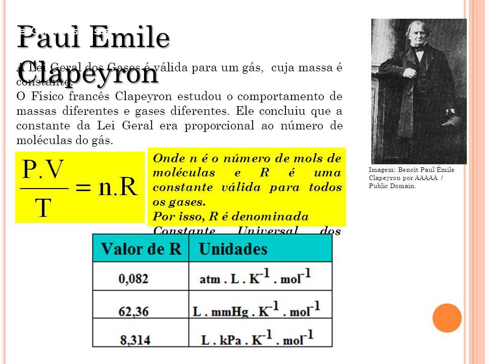 Paul Emile Clapeyron FÍSICA - 2º ano do Ensino Médio