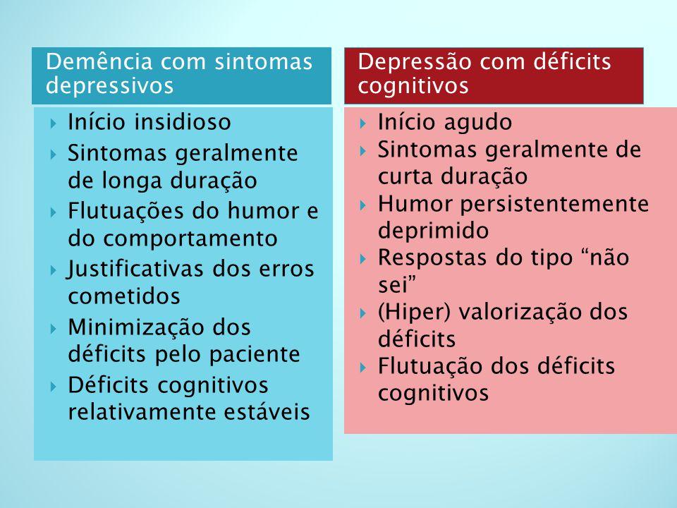 Demência com sintomas depressivos