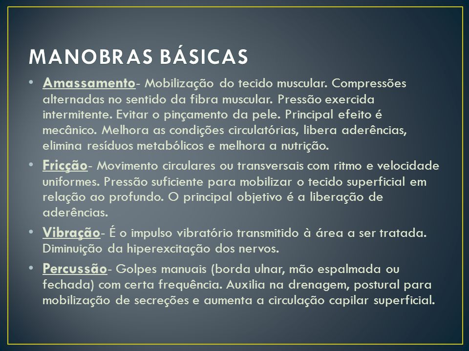 MANOBRAS BÁSICAS