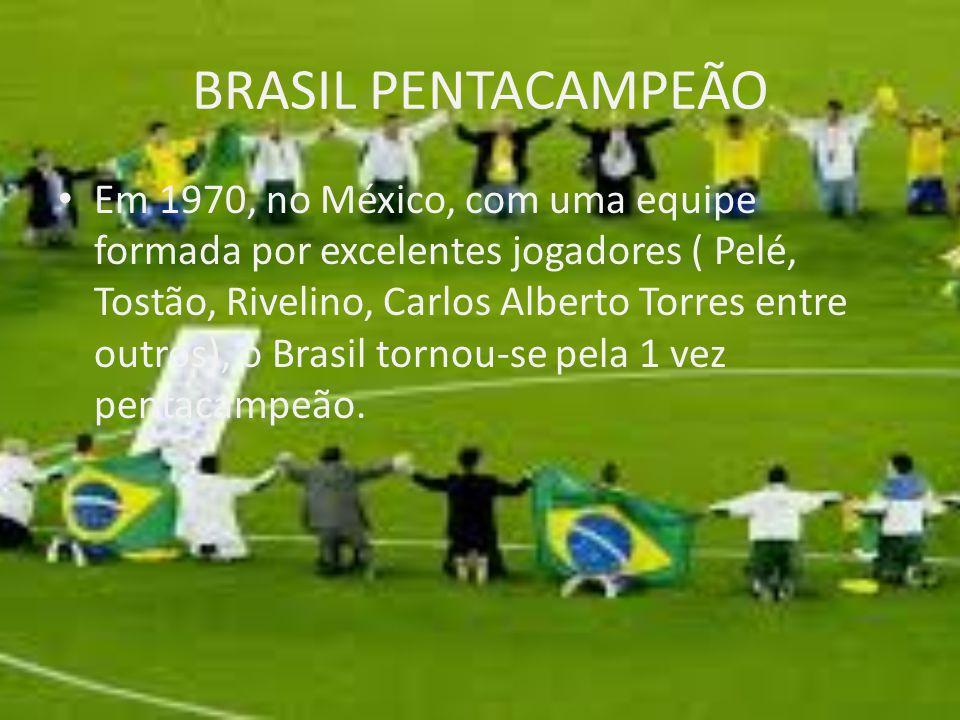 BRASIL PENTACAMPEÃO