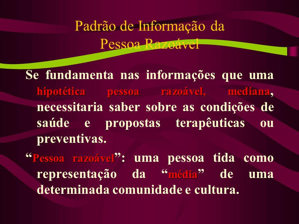 Padrão de Informação da Pessoa Razoável