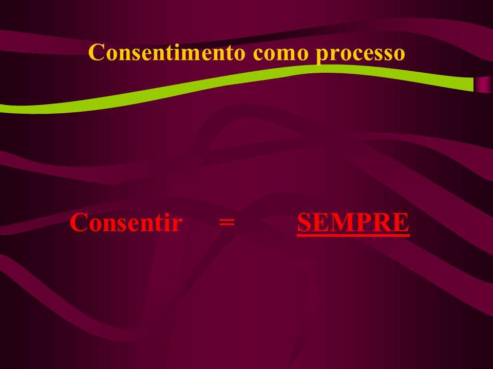 Consentimento como processo