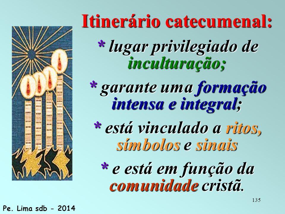 Itinerário catecumenal: