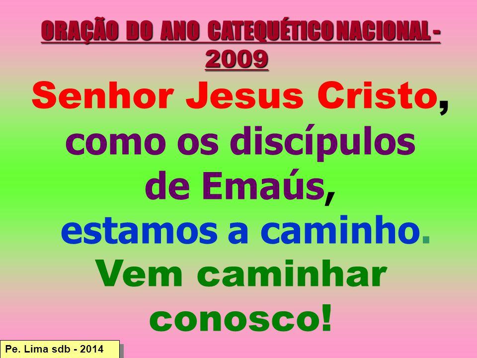 ORAÇÃO DO ANO CATEQUÉTICO NACIONAL - 2009