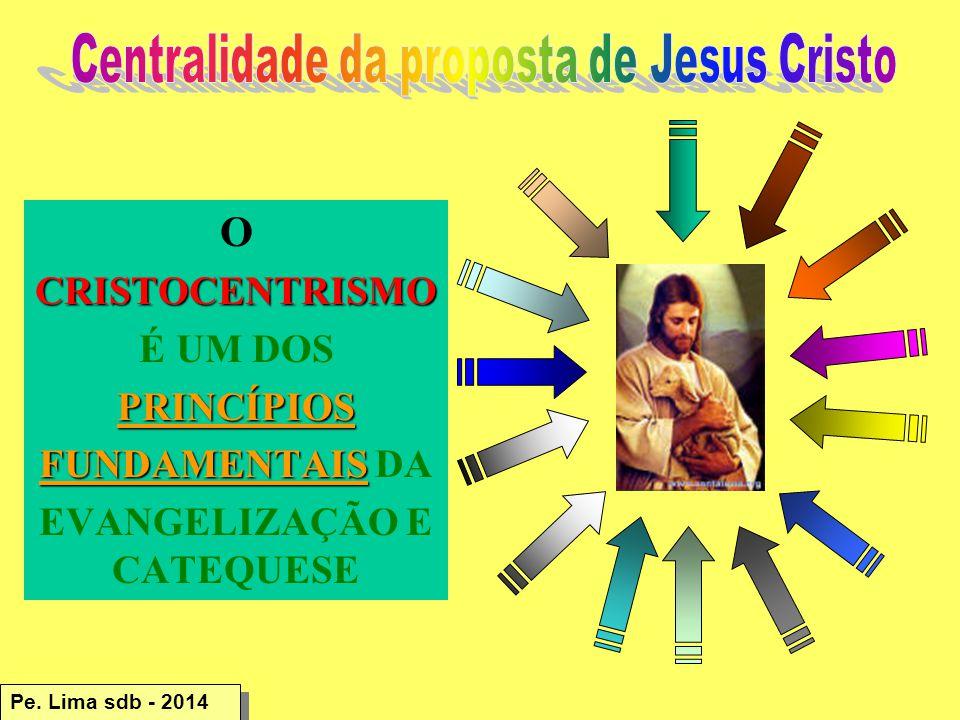 Centralidade da proposta de Jesus Cristo EVANGELIZAÇÃO E CATEQUESE