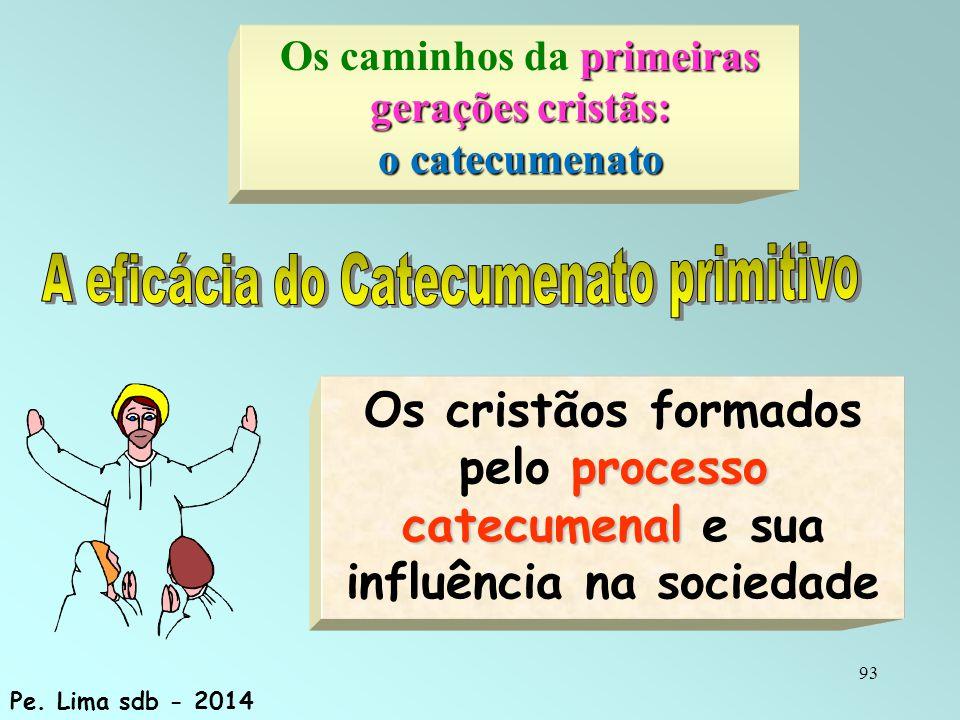 A eficácia do Catecumenato primitivo