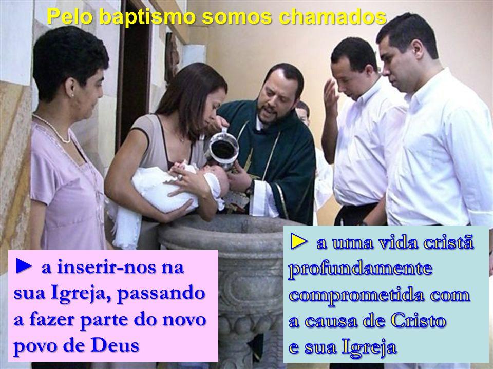 Pelo baptismo somos chamados