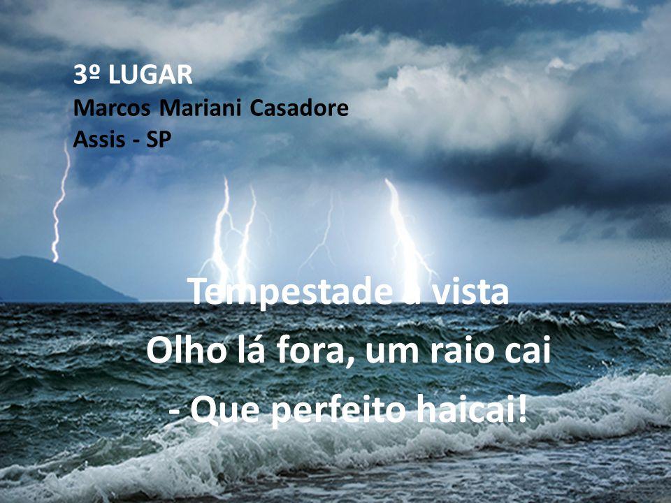 3º LUGAR Marcos Mariani Casadore Assis - SP