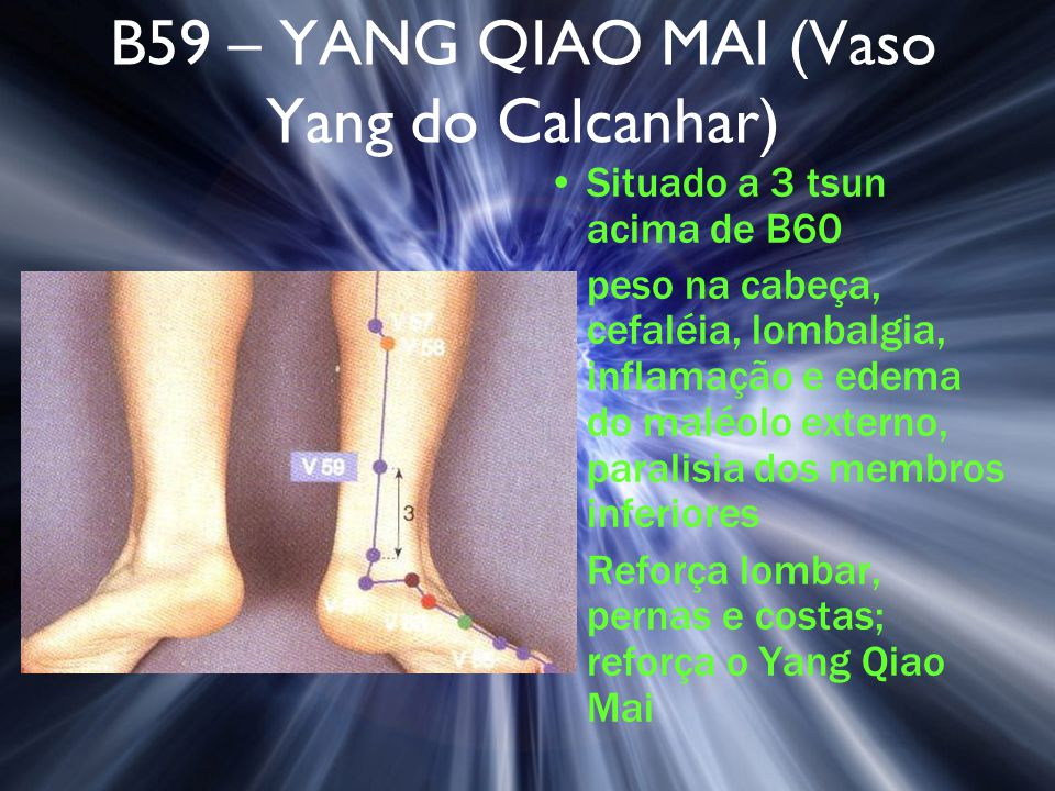 B59 – YANG QIAO MAI (Vaso Yang do Calcanhar)
