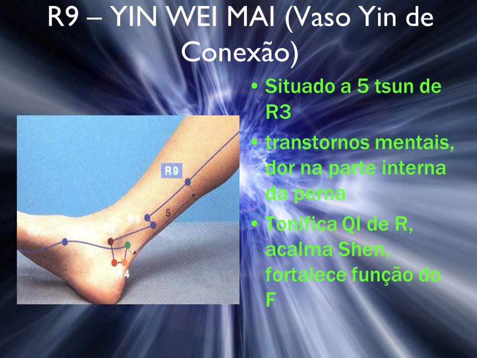 R9 – YIN WEI MAI (Vaso Yin de Conexão)