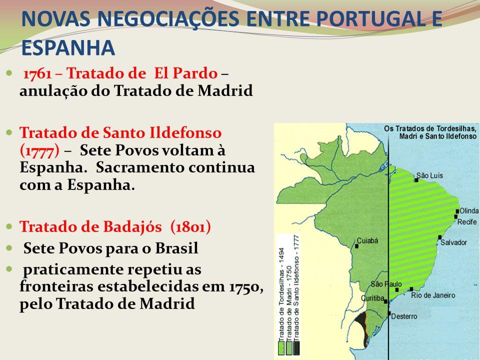 NOVAS NEGOCIAÇÕES ENTRE PORTUGAL E ESPANHA
