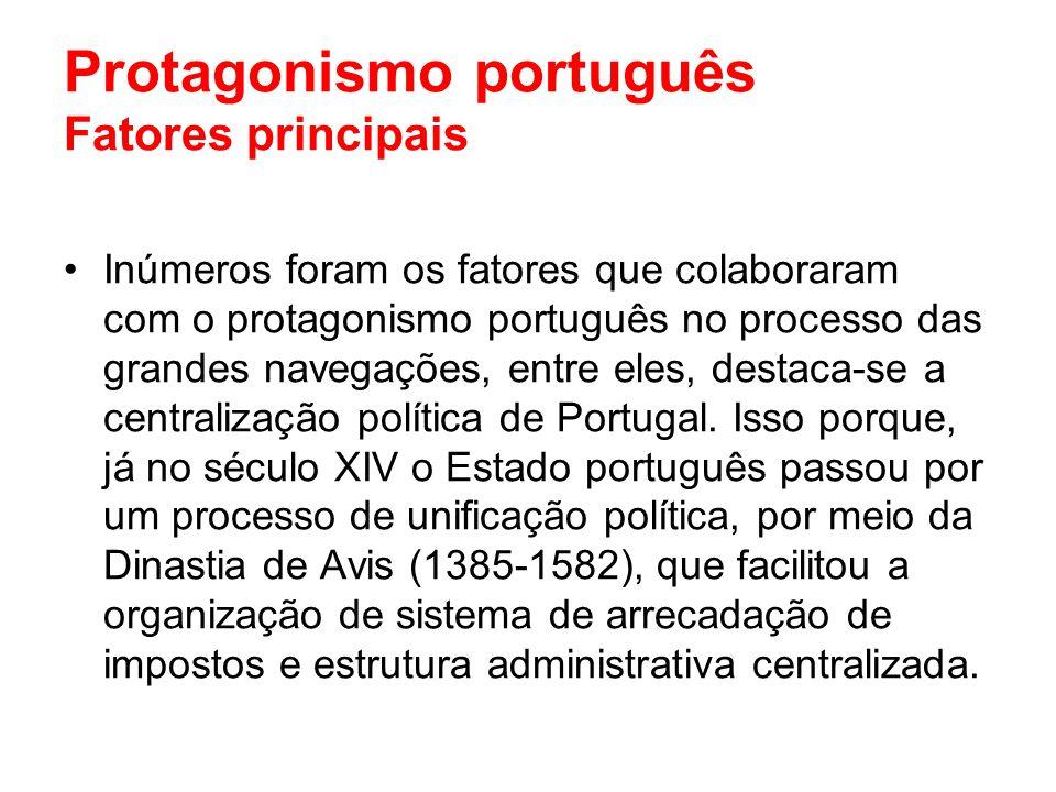 Protagonismo português Fatores principais