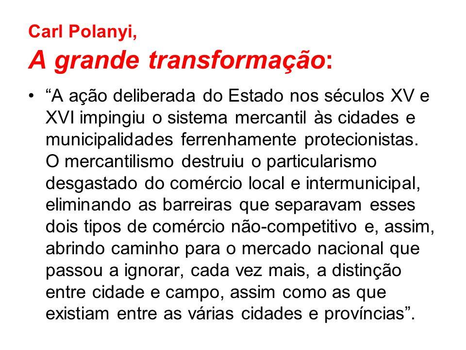 Carl Polanyi, A grande transformação:
