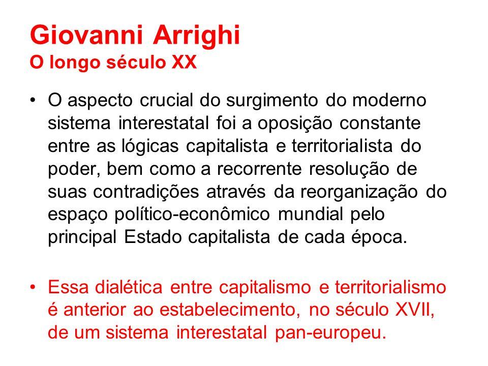 Giovanni Arrighi O longo século XX