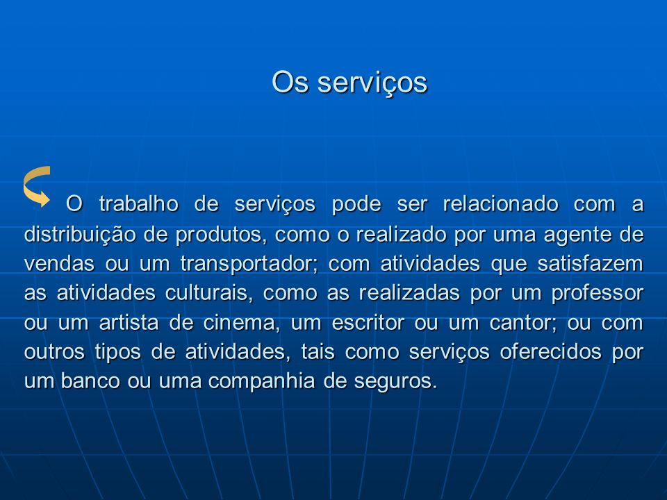 Os serviços