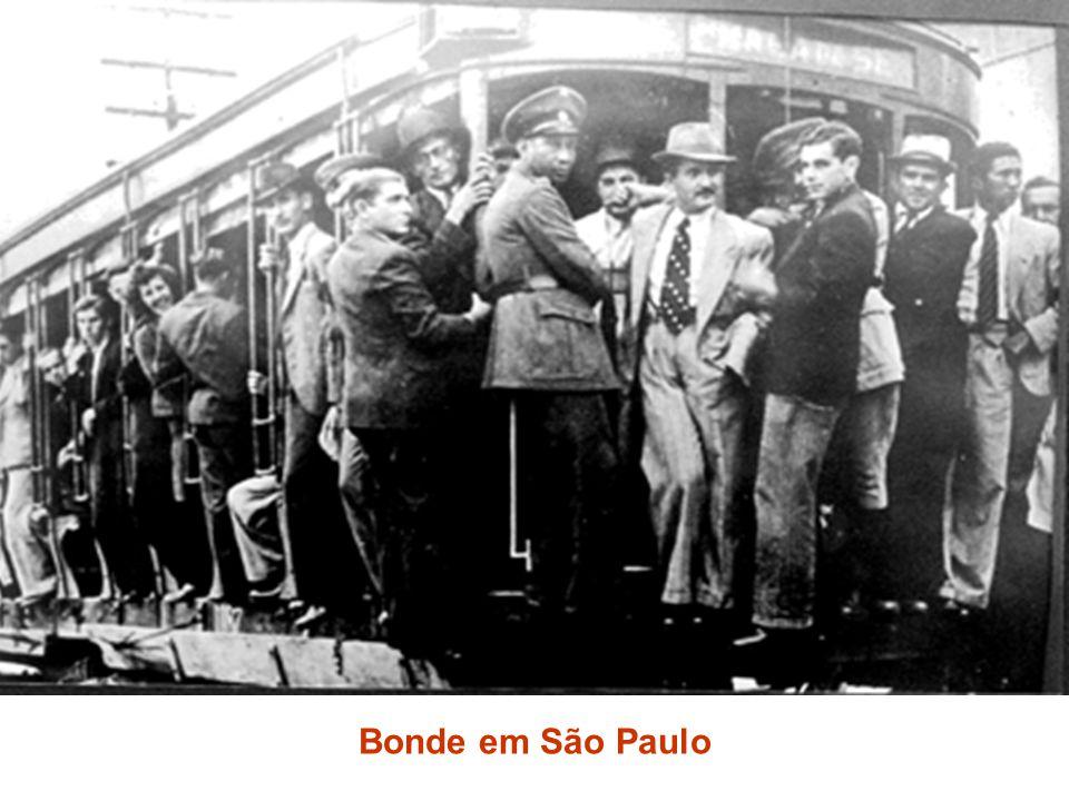 Bonde em São Paulo