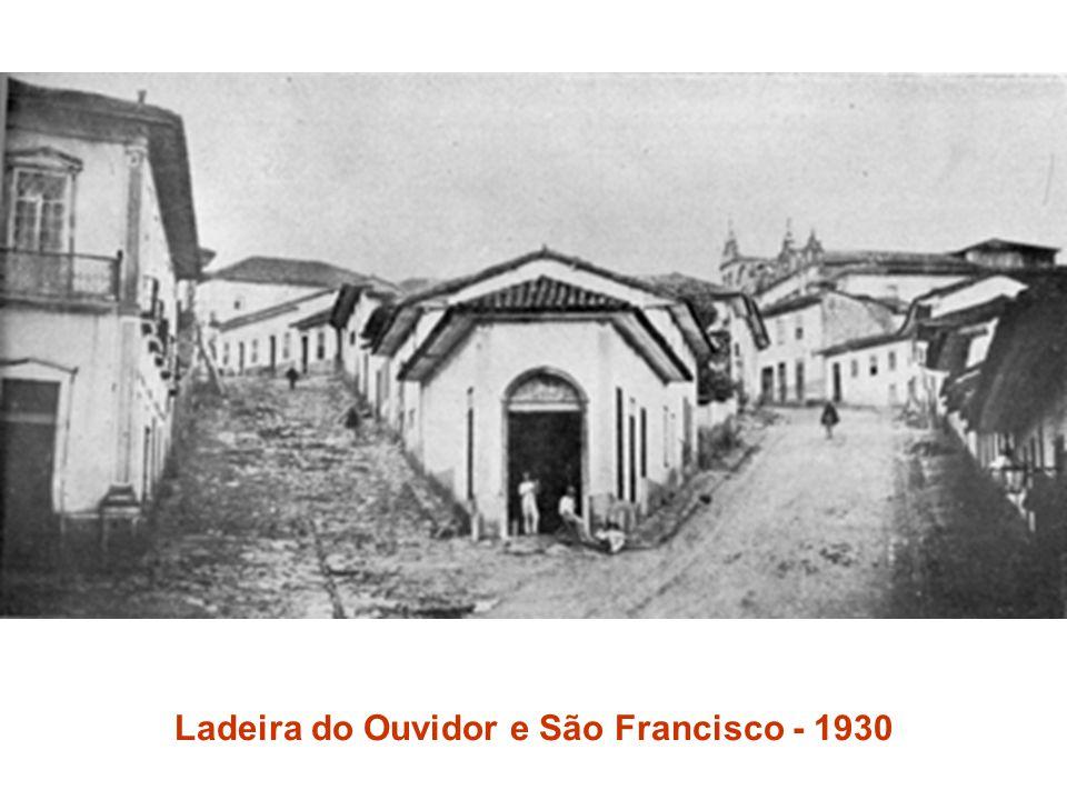 Ladeira do Ouvidor e São Francisco - 1930