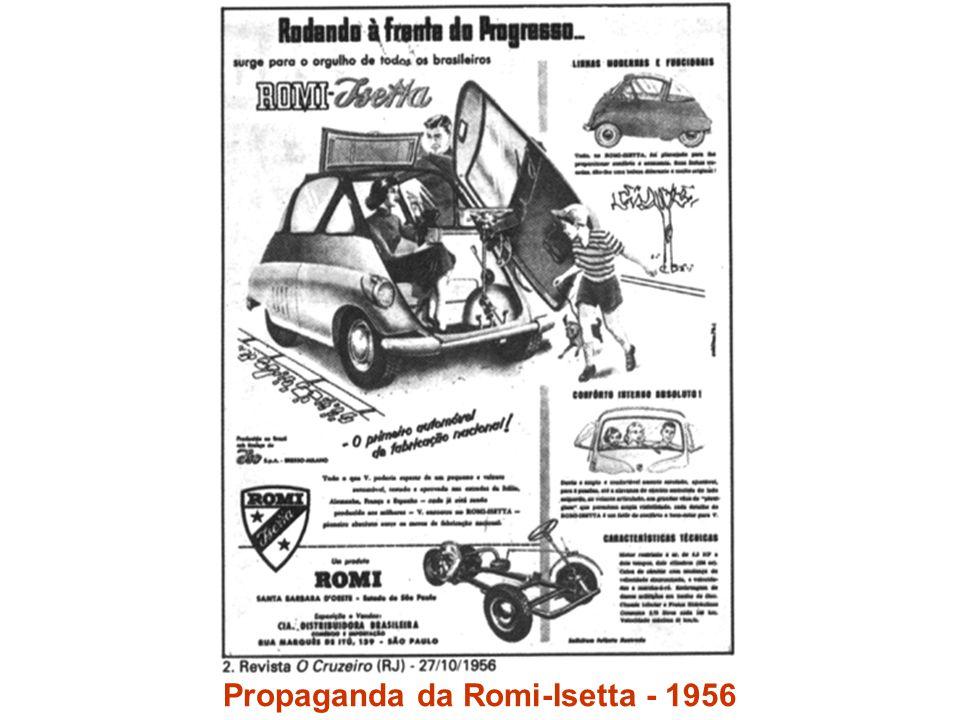 Propaganda da Romi-Isetta - 1956