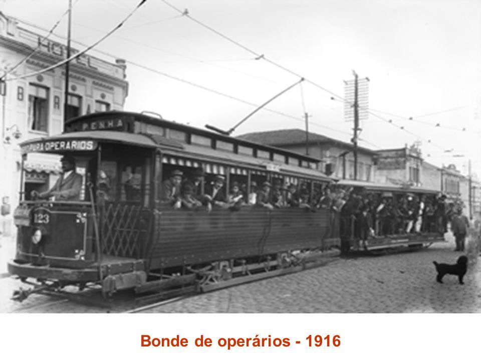 Bonde de operários - 1916